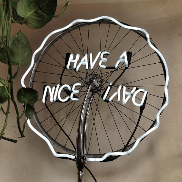Have a nice ¡ʎɐp  To you, you and you!