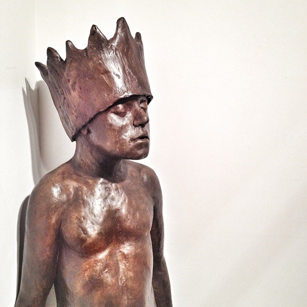 Don't you just want to take a deep breath looking at this? Well I did. #ArtHunting #art #sculpture #nyc #bethcarter